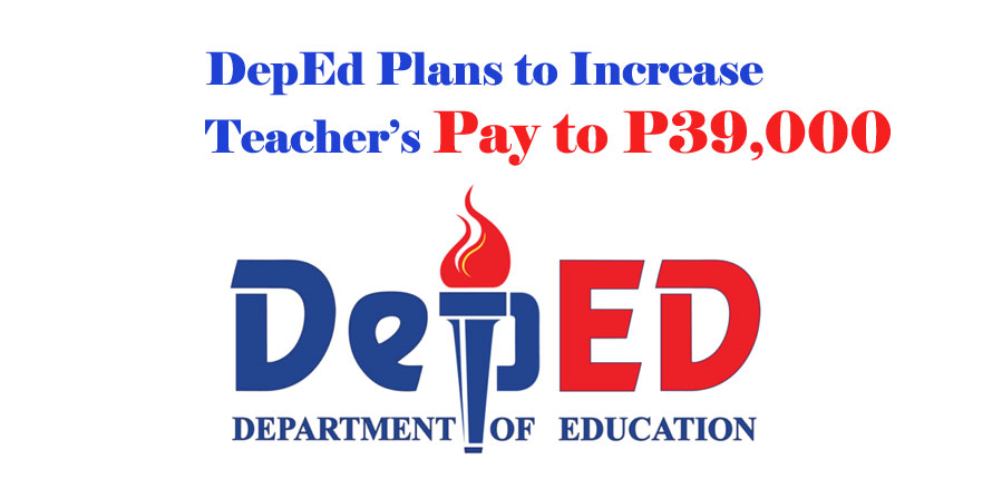 DepEd Eyes the Possibility of Increasing Teacher's Pay to P39,000