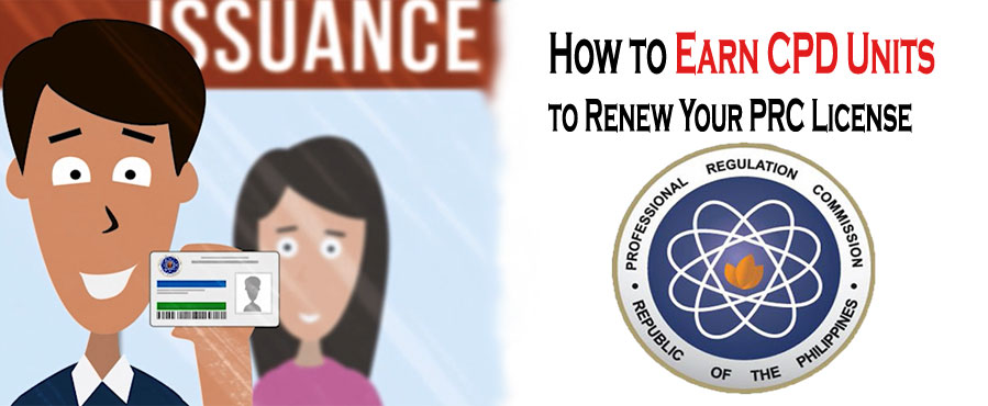 How to Earn CPD Units to Renew Your PRC License